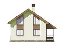 Изображение фасада 4  Проект коттеджа 64-83