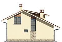 Изображение фасада 4  Проект коттеджа 66-67