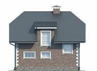 Изображение фасада 3  Проект коттеджа 38-90