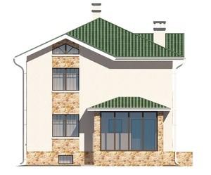 Изображение фасада 2  Проект коттеджа 47-30