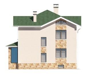 Изображение фасада 3  Проект коттеджа 47-30