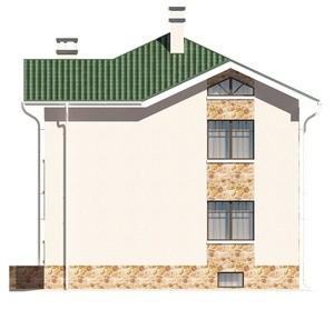 Изображение фасада 4  Проект коттеджа 47-30