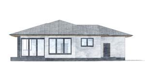 Изображение фасада 4  Проект коттеджа 69-63