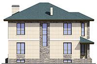 Изображение фасада 3  Проект коттеджа 47-79