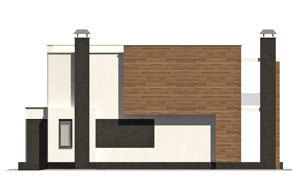 Изображение фасада 3  Проект коттеджа 47-11
