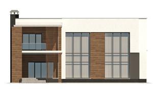 Изображение фасада 4  Проект коттеджа 47-11