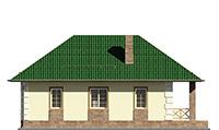 Изображение фасада 1  Проект коттеджа 64-71