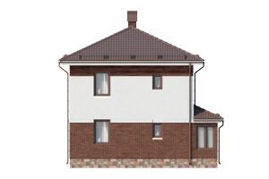 Изображение фасада 3  Проект коттеджа 67-68