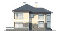 Изображение фасада 2  Проект коттеджа 69-40