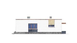 Изображение фасада 1  Проект коттеджа 49-14