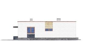 Изображение фасада 2  Проект коттеджа 49-14
