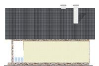 Изображение фасада 2  Проект коттеджа 59-60