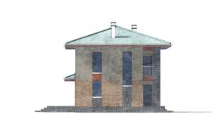 Изображение фасада 2  Проект коттеджа 80-59