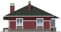Изображение фасада 3  Проект коттеджа 48-14