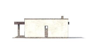 Изображение фасада 1  Проект коттеджа 48-74