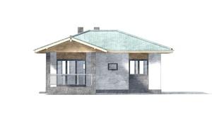Изображение фасада 1  Проект коттеджа 69-93