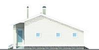 Изображение фасада 1  Проект коттеджа 51-12