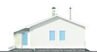 Изображение фасада 2  Проект коттеджа 51-12