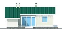 Изображение фасада 4  Проект коттеджа 51-12