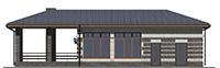 Изображение фасада 1  Проект коттеджа 43-61