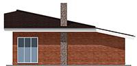 Изображение фасада 3  Проект коттеджа 42-40