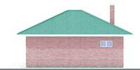 Изображение фасада 3  Проект коттеджа 90-06