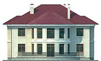 Изображение фасада 3  Проект коттеджа 47-09
