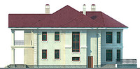 Изображение фасада 4  Проект коттеджа 47-09
