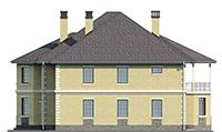 Изображение фасада 2  Проект коттеджа 39-97