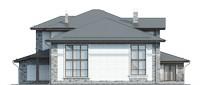 Изображение фасада 1  Проект коттеджа 39-45