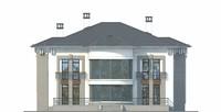 Изображение фасада 3  Проект коттеджа 38-93