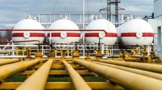 Нефтебаза в Октябрьском