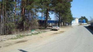 Промышленный участок под складскую базу в Березовском