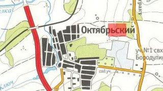 Земельный участок под коттеджную застройку у Октябрьского
