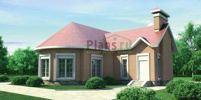 Проект дома с мансардой и цокольным этажом 11x13 метров, общей площадью 258 м2, из керамических блоков, c бассейном и котельной