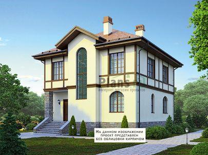Проект двухэтажного дома 12x9 метров, общей площадью 148 м2, из керамических блоков, c котельной и кухней-столовой