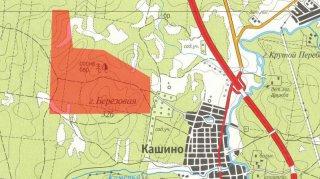 Участок под комплексное жилищное строительство в Кашино