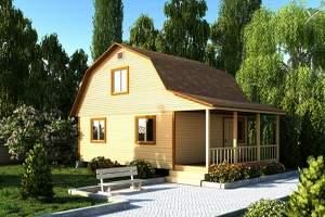 Дача стала жилым домом